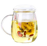 Schöner Entwurfs-Glaspilz-Cup-Tee-Cup
