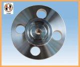 Flange forjada da cabeça de cilindro do aço de carbono Ck45