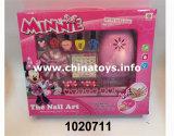 Brinquedo plástico de 2017 acessórios do salão de beleza do prego da menina de DIY (1020712)