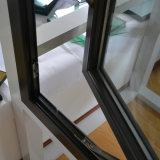 Het poeder bedekte de Thermische Gordijnstof van het Profiel van het Aluminium van de Onderbreking met een laag & hing de Bovenkant Venster met MultiSlot K03018