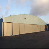Edificio prefabricado del hangar de la estructura de acero para la venta