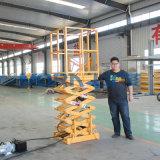 Mini eléctricos Scissor la elevación con el cargamento 1000kg de la altura de los 3m