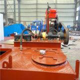 Máquina de la limpieza del río, plantas acuáticas que cortan la nave
