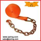 """"""" cinta 2 """" laranja da catraca da extensão 2 Chain de X 30 '"""