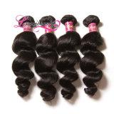 Weave волос девственницы сбывания 100% путать свободно горячий людской индийский