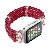 Braccialetto di stirata dei branelli delle donne per il cinturino del Apple
