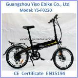 Vélo électrique de conformité et 36V de tension de TUV En15194 Folding20inch
