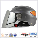 De koele Halve Helm van de Motorfiets van het Gezicht met Achterlicht (HF319)
