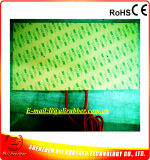 Het Verwarmen van Multipe de RubberVerwarmer 220V 2*200W 400*200*1.5mm van het Silicone van Kringen