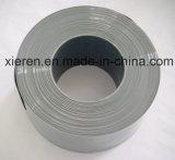 Rideau solide en bande de PVC de gris
