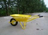 Wheelbarrow para roda de aço/pneumática do jardim ou do edifício (/roda contínua)