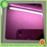 Oro al por mayor 201 coloridos de Rose de la alta calidad hoja de acero inoxidable del final de 304 espejos