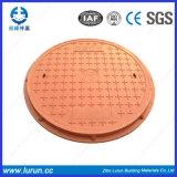 Крышка люка -лаза D400 SGS En124 FRP SMC тяжеловесная составная