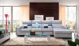 Meubles à la maison modernes, sofa faisant le coin de tissu (150)
