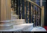Surtidor de mármol cortado a la medida alta calidad de la escalera