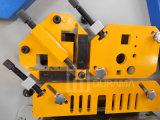 Trabajador hidráulico del hierro para el corte del ángulo