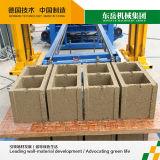 Leichter konkreter Block der Ziegelstein-Maschinen-Qt4-15, der maschinelle Herstellung-Zeile bildet