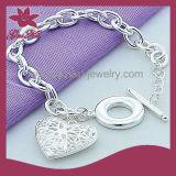 2015 CPB-009 La última joyería pulsera de diseño de moda 925 astilla en forma de corazón