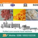 Virutas de maíz que hacen la máquina