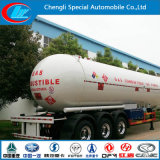 Druk Vessels 59520 Liters LPG Tanker Trailer, 40cbm 50cbm 60cbm LPG Semi Trailer
