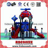 Campo da giuoco esterno di plastica di divertimento dei bambini