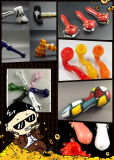 Tubulação de vidro colorida da mão de Sherlock para a venda por atacado