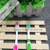 cepillo de dientes plástico de la maneta del color del doble de la alta calidad 4~5star para el hotel