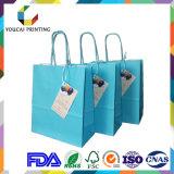 ギフトの包装のための専門の農産物のクラフトのペーパー方法袋