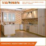 De witte Keukenkast van het Huis van de Keukenkast Handless Moderne