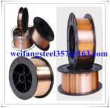 황금 브리지 제조자에서 구리 땜납 철사 용접 전선 Er70s-6/Sg2/G3si1 MIG 용접 소모품