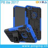 Huawei P8/P9 라이트 2017년을%s 잡종 Kickstand 전화 상자
