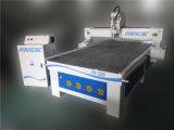 Cuisine de porte faisant la machine de couteau de commande numérique par ordinateur de travail du bois de découpage de la planche 3D à vendre FM1325