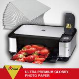 Papel fotográfico de inyección de tinta de doble cara Premium 255GSM A4 Impresión de inyección de tinta