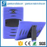 Neue Art-ursprüngliche Qualitätsharter Silikon-Gummi-Kasten-Deckel für Tablette-schroffes schützendes der Samsung-Galaxie-Tab4 T110