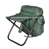 Cadeira de dobramento da carpa do metal para o tamborete da trouxa da pesca da carpa