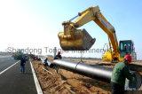 Linha de produção da tubulação de fonte do HDPE