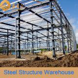 Almacén de acero ligero prefabricado certificado Ce (SSW-387)