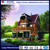 低価格の販売のためのプレハブの家ライト鋼鉄別荘