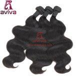Волосы девственницы объемной волны верхнего качества естественные бразильские