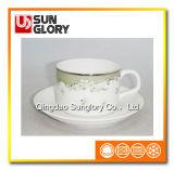 Оптовая изготовленный на заказ кружка кофеего фарфора логоса Bd043