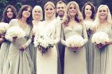 Краткости орденской ленты типа смешивания платье Bridesmaid безрукавный тучной дешевое
