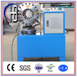 """セリウムおよびISOの証明の油圧ゴム1/4 """" ~2 """"ホースのひだが付く機械"""