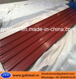 Strato d'acciaio ondulato del tetto del trapezio PPGI