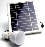Lampe de main légère à la maison rechargeable à énergie solaire de la batterie DEL