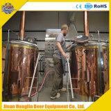 マイクロホテルまたは棒またはパブの草案赤い銅ビール醸造装置