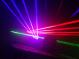 Лазер головки RGB 4PCS Moving для этапа диско
