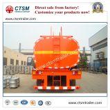 3-as 42cbm Semi Aanhangwagen van de Olietanker van het Koolstofstaal de Vloeibare