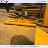 De Plank/Hijsend de Plank van het Staal/het Glas van de Overdracht van het glas draagt Frame