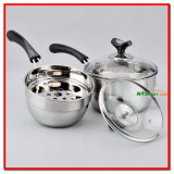 8PCS Stainless Steel Cookware Set Kitchenware (N000006882、6883、6884)