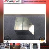 Maschinell bearbeiteter CNC zerteilt Präzisions-Blatt-Edelstahl-Metalldas stempeln